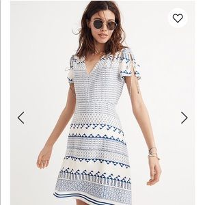 Madewell Poppy Dress in Ionian Tile
